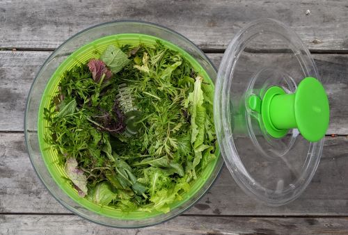 Spin your greens for the greens powder recipe.