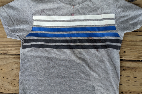 The best laundry detergent to buy will clean this shirt.