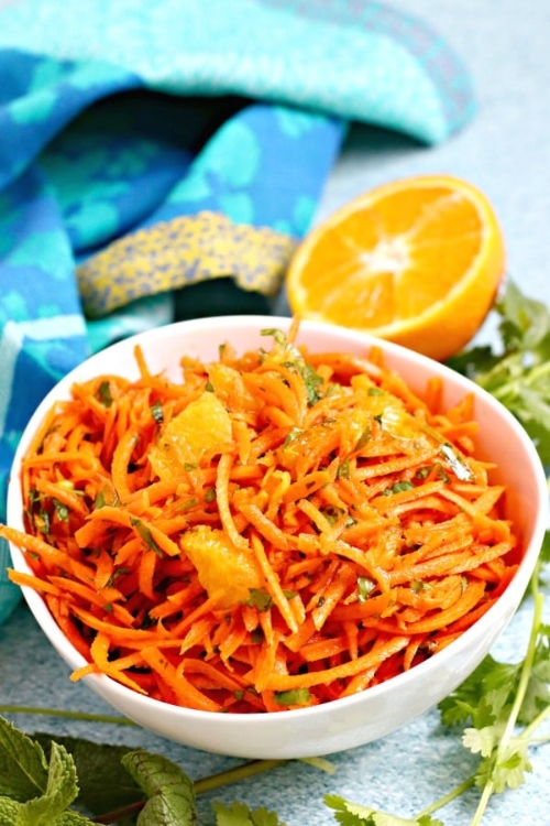 Carrots good for you? Moroccan Carrot Orange Salad