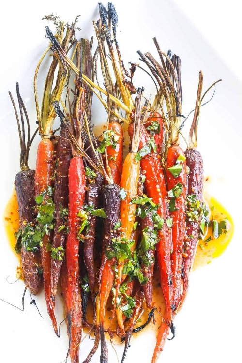 Carrots good for you? Carrots in Harissa Glaze